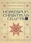 Homespun christmas crafts - better homes & gardens - 19