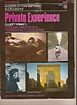 Click here to enlarge image and see more about item M9719: Private experience  magazine -  copyright 1974