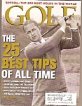 Click here to enlarge image and see more about item M9727: Golf magazine-  Jan. 2000