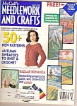Click here to enlarge image and see more about item M9757: McCall's needlework and craft - August 1992