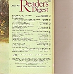 Click here to enlarge image and see more about item M9778: Reader's digest -  August 1975