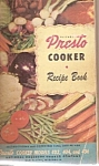 Presto Cooker recipe book -  1948??