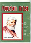 Click here to enlarge image and see more about item Ma4108: Porcelain Artist -  November/December 1986