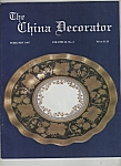 The China decorator - february 1987