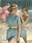 1949 Mademoiselle Magazine CLOUD COLLEGE