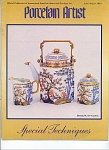 Click here to enlarge image and see more about item PAJA1995: PORCELAIN ARTIST JULY/AUGUST 1995
