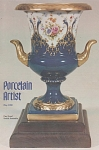 VINTAGE~IPAT~PORCELAIN ARTIST~OCTOBER-1980