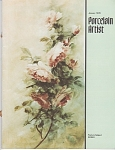 VINTAGE~PORCELAIN ARTIST~JANUARY~1978
