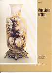 Click here to enlarge image and see more about item PA51978: PORCELAIN ARTIST  MAY 1978