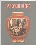 VINTAGE~PORCELAIN ARTIST~SEPTEMBER~1985