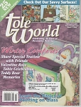 Click here to enlarge image and see more about item PAINT100: TOLE WORLD~FEB 2006~WINTER COMFORTS~CRAFTS