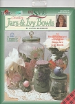 Click here to enlarge image and see more about item PAINT105: DONNA DEWBERRY~ONE STROKE PAINTING~JARS-IVY B