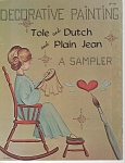 VINTAGE~SAMPLER PAINTING BOOK~OOP~JEAN WORTHA