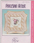 Click to view larger image of VINTAGE~IPAT~PORCELAIN ARTIST~JAN~FEB~1990 (Image1)