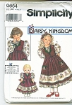 SIMPLICITY GIRLS AND DOLL DRESS PATTERN2