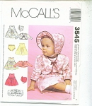 Click to view larger image of SIMPLICITY BABY PATTERNS  3545 (Image1)