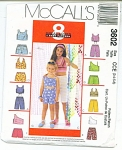 SIMPLICITY GIRLS PATTERN~SZ 3-4-5-6