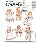 McCALL CRAFTS 4907 BABY DOLL PATTERN