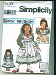 Click to view larger image of DAISYKINGDOM GIRLS AND DOLL DRESS PATTERNS (Image1)