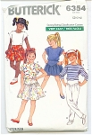 BUTTERICK PATTERN FREE SHIP