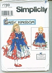 SIMPLICITY DAISY KINGDOM  GIRL PATTERN UNCUT