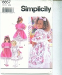 Click here to enlarge image and see more about item 8857: SIMPLICITY GIRL PATTERN