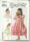 Click here to enlarge image and see more about item 8987: SIMPLICITY GIRL PATTERN