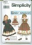 Click to view larger image of DAISY KINGDOM GIRL AND DOLL PATTERN  9434 (Image1)