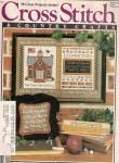 Click here to enlarge image and see more about item PJ102: Cross Stitch country crafts -  Sept/Oct. 1986