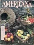 Americana magazine - July/August 1984