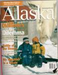 Click here to enlarge image and see more about item PJ338: Alaska magazine - October 2002