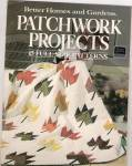 Click here to enlarge image and see more about item PJ342: Better Homes & gardens Patchwork projects - copyright 1
