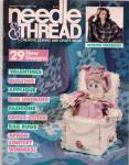 Click here to enlarge image and see more about item PJ351: Needle & thread -January/FEbruary 1986