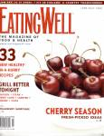 Click here to enlarge image and see more about item R001: EATING WELL~Magazine 2006~BLUEBERRY  SEASON