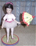 Click here to enlarge image and see more about item RECOD11: ASHTON DRAKE DOLL RECO KATIE BALLERINA DOLL