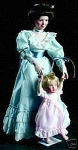 Click here to enlarge image and see more about item KUCK99: VINTAGE~SANDRA KUCK~FIRST  LOVING~STEPS~DOLLS