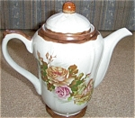 Click here to enlarge image and see more about item SC119: AMERICANA HEARTHSIDE HAND DECORATED COFFEE PO