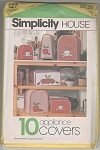 Click here to enlarge image and see more about item SIMP127: APPLIANCE COVERS~TOASTER ETC~1983-OOP