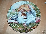Click here to enlarge image and see more about item SK3327C: A TIME TO LOVE~PLATE~ SANDRA KUCK