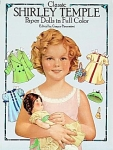 Click here to enlarge image and see more about item ST001: CLASSIC SHIRLEY TEMPLE PAPER DOLLS