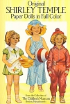 Click here to enlarge image and see more about item ST002: ORIGINAL SHIRLEY TEMPLE PAPER DOLLS COLOR