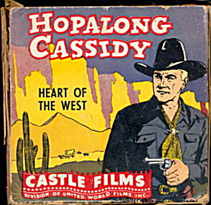 Hopalong Cassidy Heart of the West 8mm Castle Film (Image1)