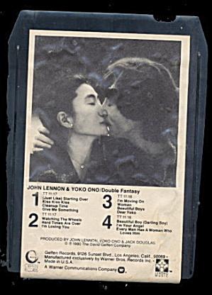 John Lennon & Yoko Ono 'Double Fantasy' 8 Track (Image1)