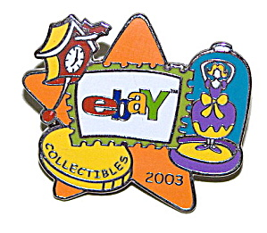 2003 eBay Collectibles Enameled Pin (Image1)