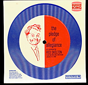 1969 Red Skelton Pledge Burger King Promo Record (Image1)