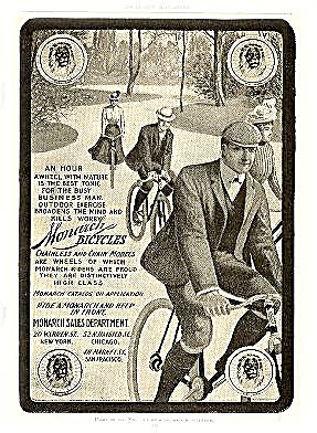 """Monarch Bicycles"" 1903 Advertisement (Image1)"