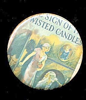 1930s Advertising Twisted Candles Nancy Drew Mirror