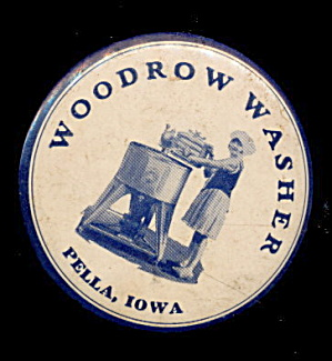 1930s Advertising Woodrow Washer Store IA Mirror (Image1)