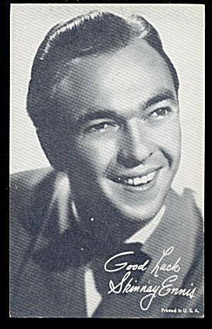 1960s  Skinnay Ennis (Jazz Singer) Arcade Card (Image1)