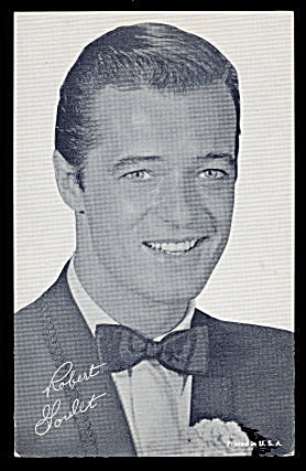 Robert Goulet (Actor) 1950s Arcade Card